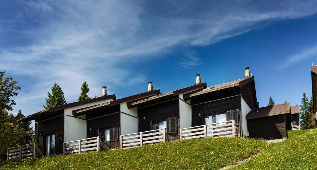 rogla bungalovi, rogla skijanje, rogla slovenija skijanje
