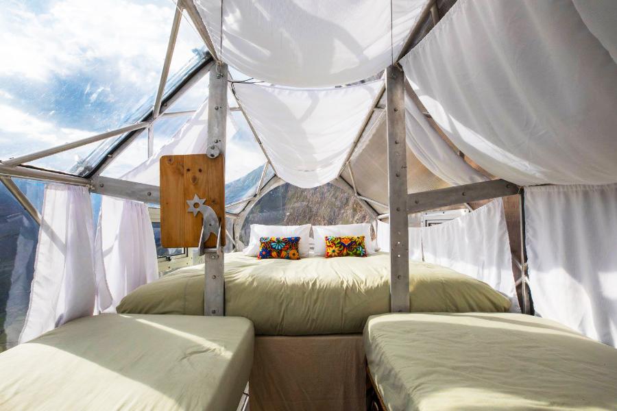 najstrasniji hotel na svetu, najzanimljiviji hoteli sveta, skylodge adventure suites peru