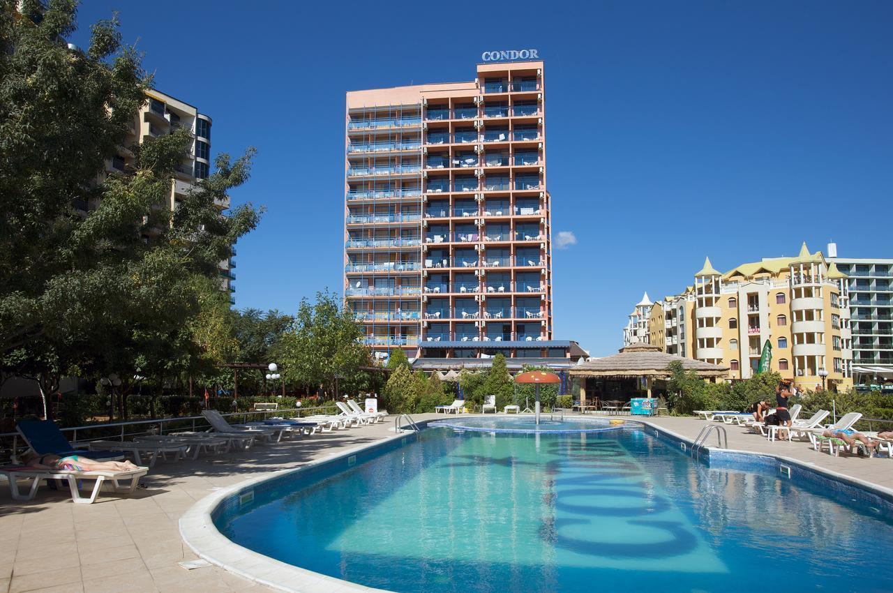 hotel condor suncev breg, suncev breg hoteli bugarska