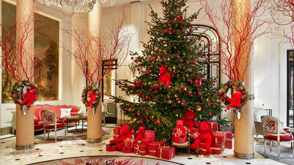 hoteli sa najlepsom novogodisnjom dekoracijom