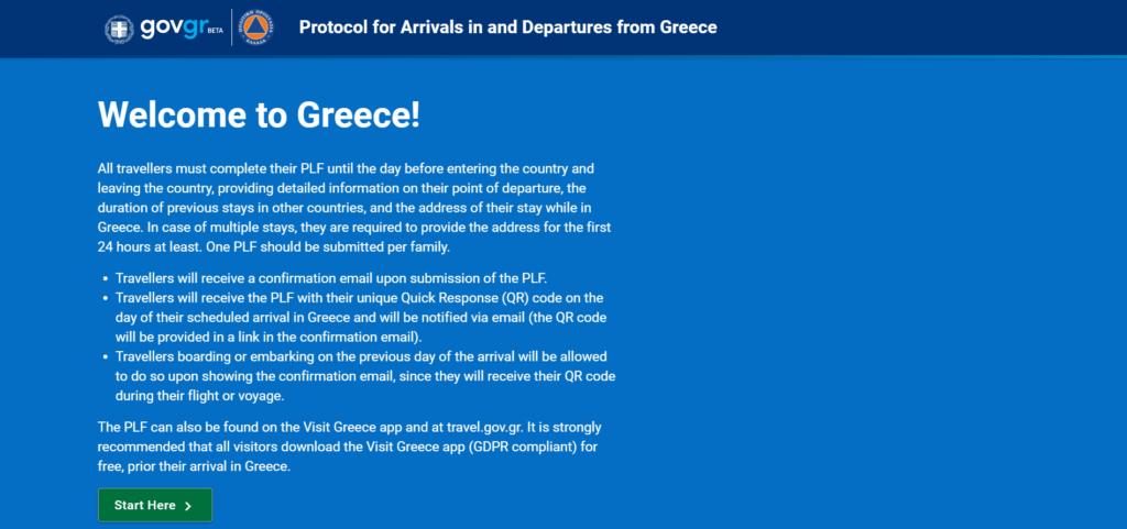 Pogledajte detaljno uputstvo o tome kako da popunite PLF formular za ulazak u Grčku