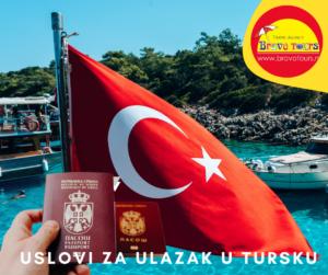 uslovi za ulazak u tursku
