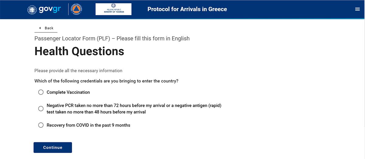 plf obrazac kako popuniti plf za ulazak u grcku